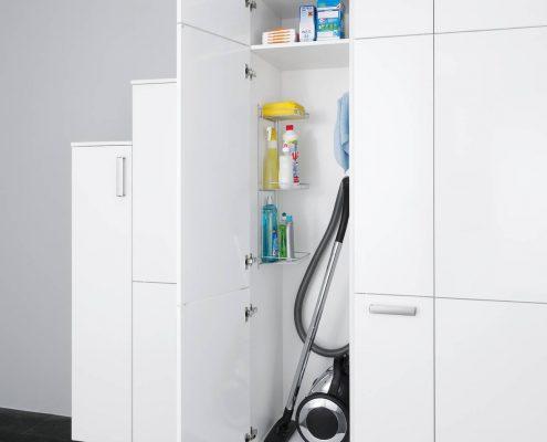 KüchenGalerie Follner; Aufbewahrungsbeispiel. Schrank für größere Geräte. Bildquelle: Wellmann