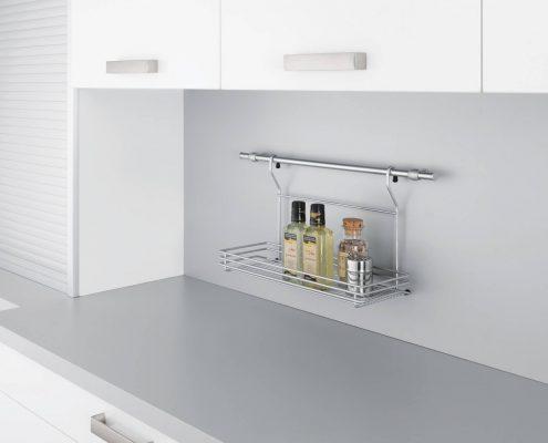 KüchenGalerie Follner; Aufbewahrungsbeispiel. Gewürzregal. Bildquelle: Wellmann